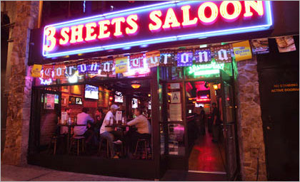 3 Sheets Saloon in Greenwich Village