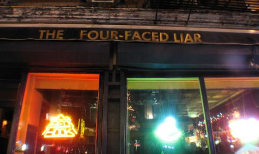 The Four Faced Liar in West Village