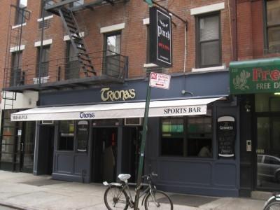 Triona's Bar in Greenwich Village